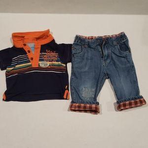 Baby boy  Clothing Oshkosh  6 mos